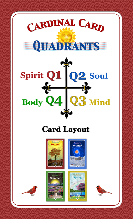 Cardinal Card Quadrants